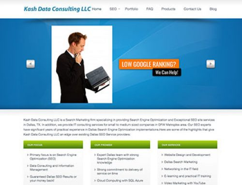 Kash Data Consulting LLC, Dallas, TX
