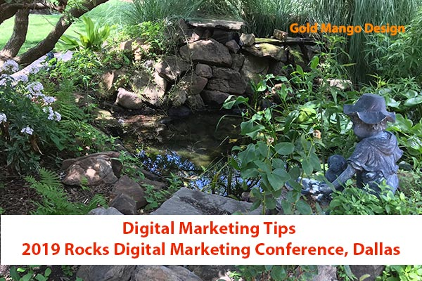 Rocks Digital Marketing Conference 2019, Dallas, TX