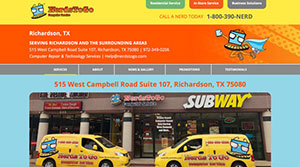 PPC management for NerdsToGo Computer Services, Richardson, TX