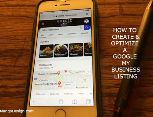 How to Create and Optimize a Google My Business Listing For Your Business