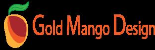 Gold Mango Design Logo