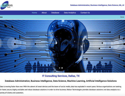 Rafson Technologies, Dallas, TX