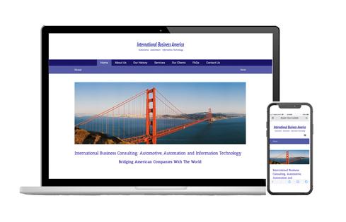 Responsive web design, IBAWorld, Plano TX