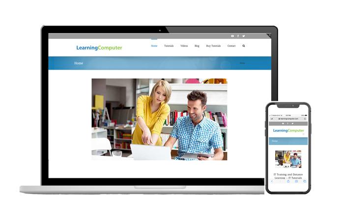 Responsive web design, LearningComputer, Plano TX