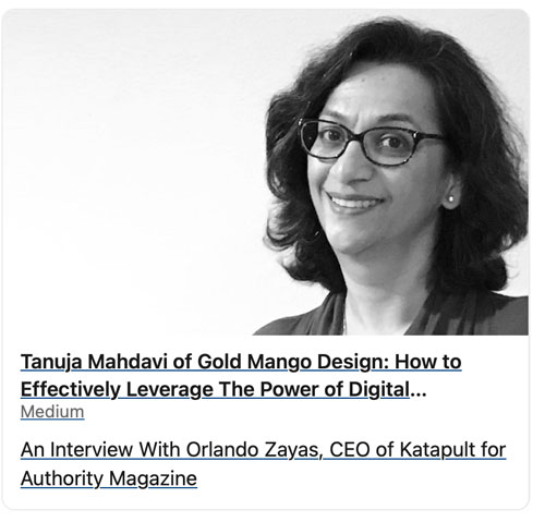 Interview on digital marketing by Authority magazine