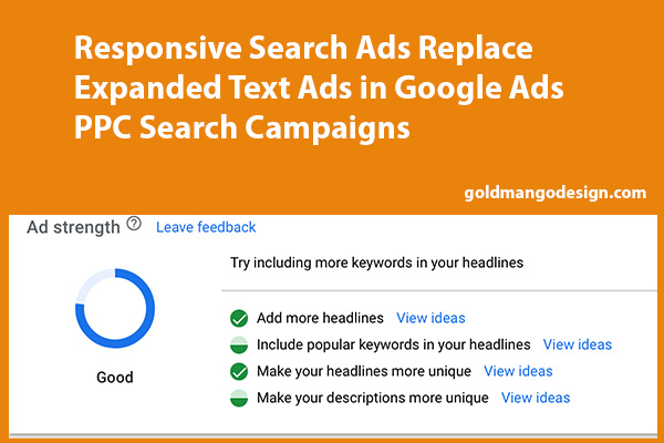 responsive search ads replace expanded text ads